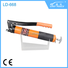 central lubrication system of cordless grease gun