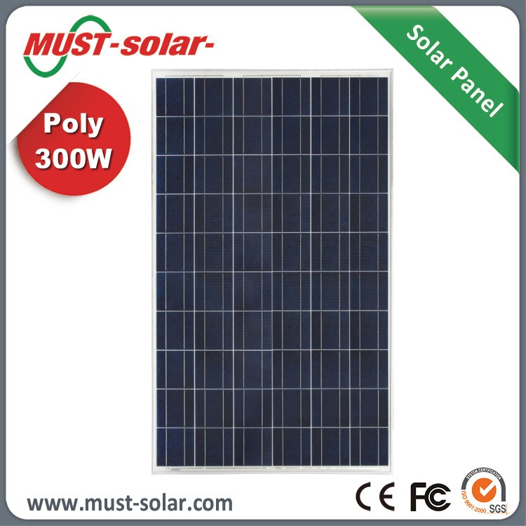 High Efficiency Poly 300w Solar Panel for Home Solar Panel 5000w