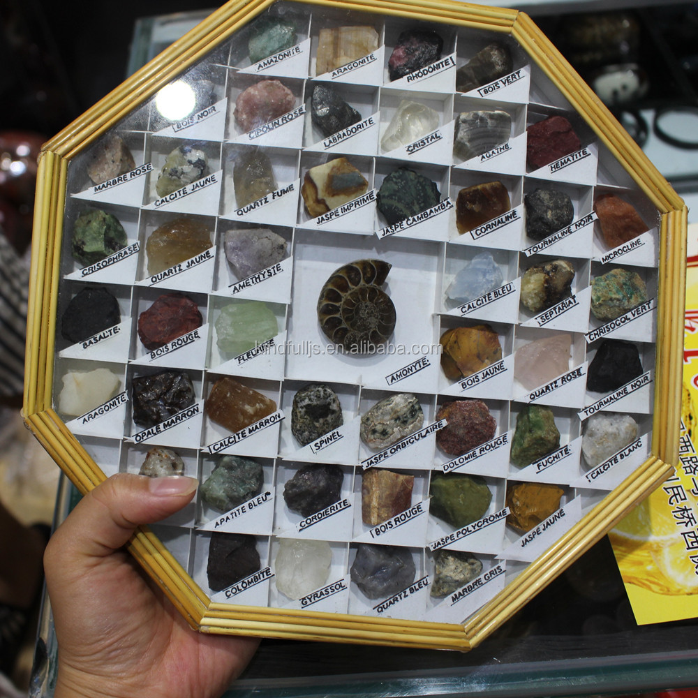 Wholesale mixed raw natural minerals stone rock and minerals specimen for sale