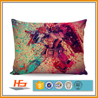 Custom Polyester Sublimation Printed Pillow Case