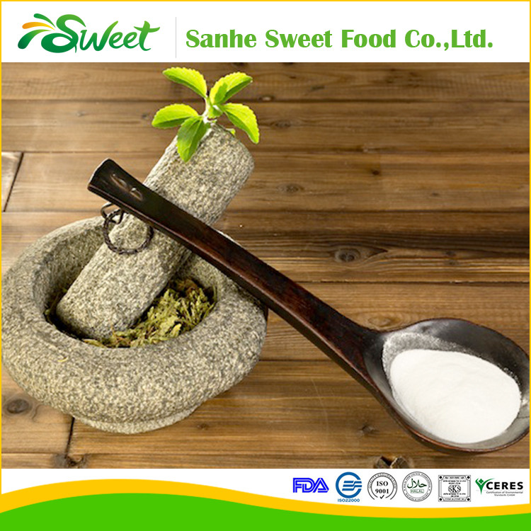 Natural sweeteners Stevioside Powder Stevia Extract Stevia Leaf P.E. 98% Rebaudioside A