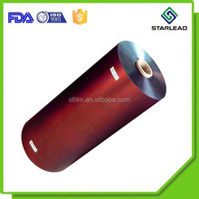 Low density high performance metal BOPP film, Matt metalized bopp colorful film