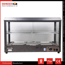 CHINZAO China Factory Manufacturing 30-85 Celsius Electric Hot Food Display Warmer Cabinets