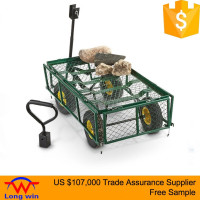 high quality garden wagon trolley flower cart