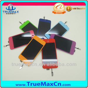 Sale in bulk for LCD screen digitizer glass assembly for iPod touch 4