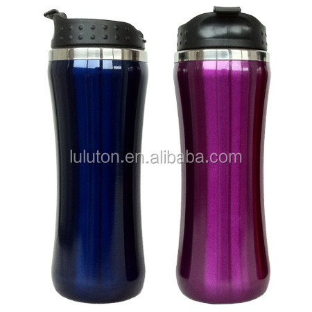 electric water bottle cooler stainless steel beer bottle with carabiner