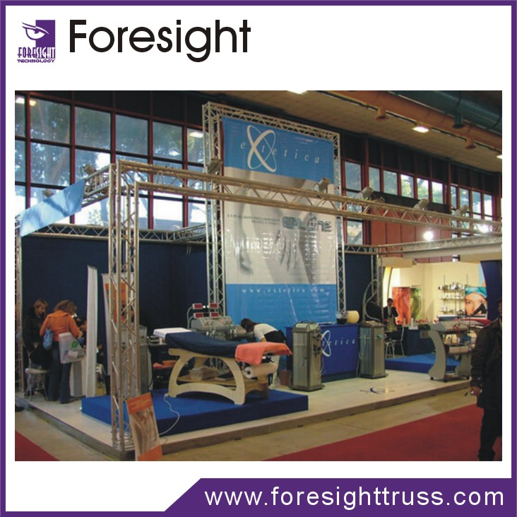 Aluminum exhibition and trade and fair spigot small truss