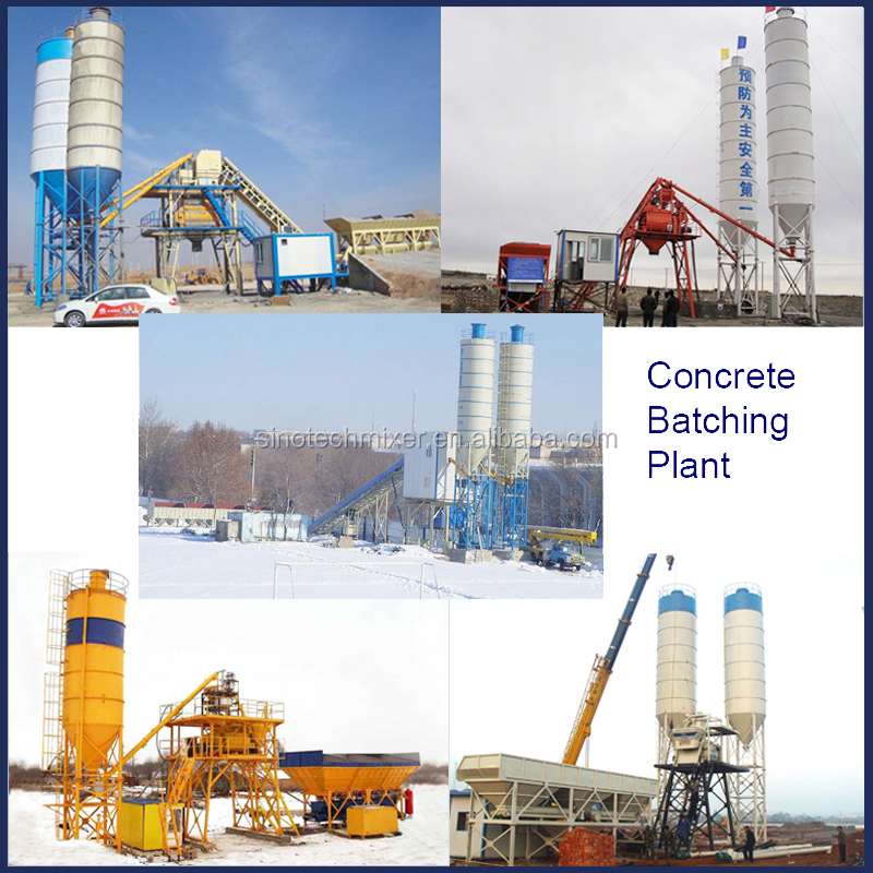 50 m3/h china concrete batching plant price for sale