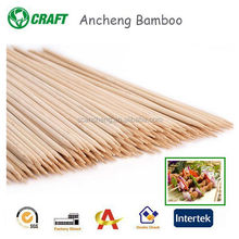 Wholesales craft wooden flexible bamboo skewer