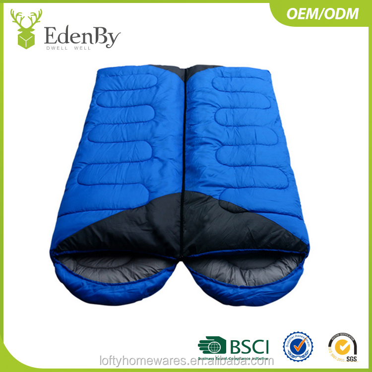 Mummy Adult Outdoor Camping Duck Down Sleeping Bag With Waterpoof Ripstop Fabric