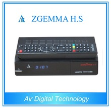 Mini Smart Zgemma H.S Satellite Receiver FTA Linux OS Enigma2 DVB-S2 One Tuner With Official Softwares