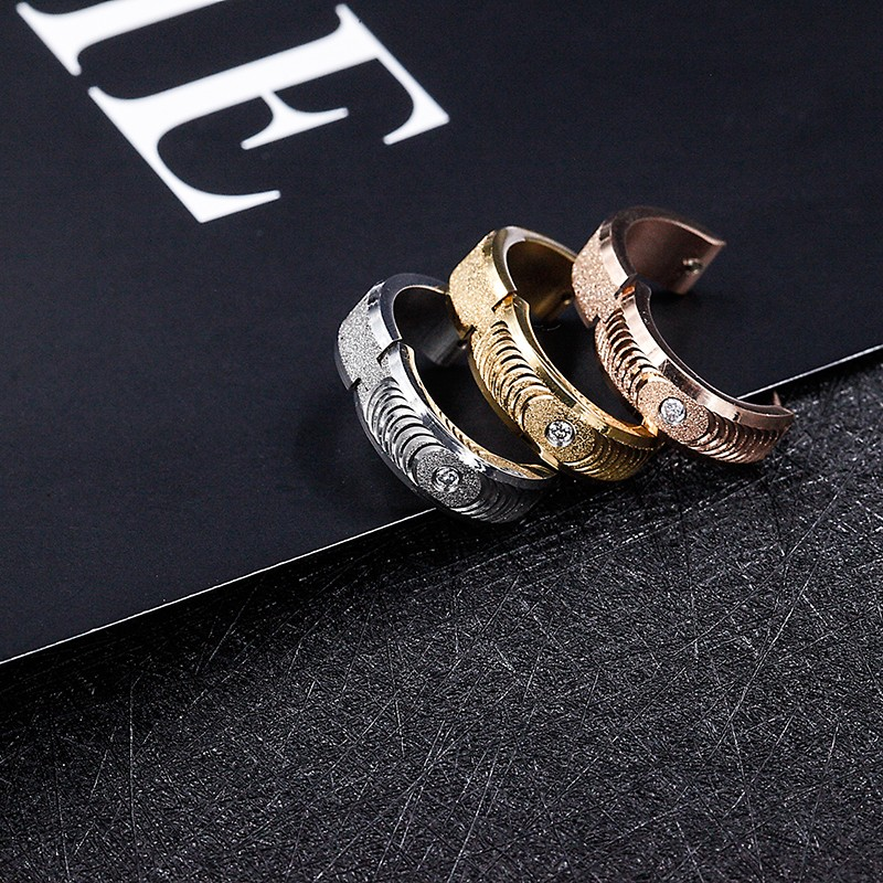 Best Selling Women Stainless Steel Gold Earring Designs with Price