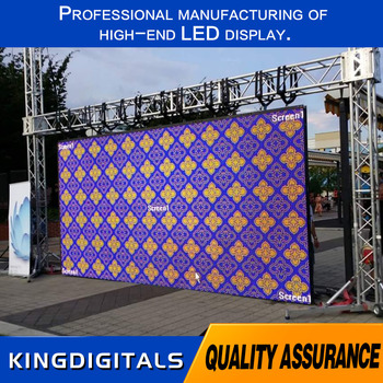 Outdoor P3.91 SMD1921 LEDs full color rental led display with 500*500 cabinet