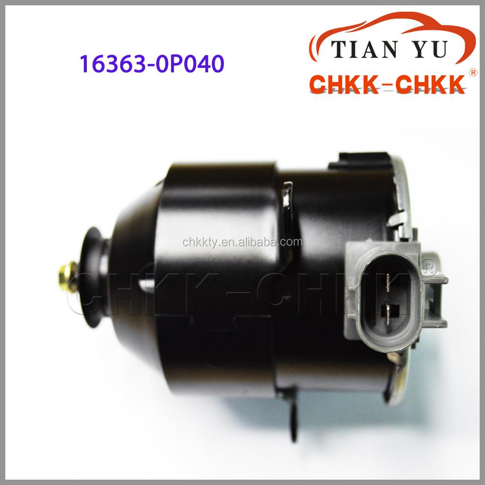 Denso power radiator fan motor 12v car oe for Radiator fan motor price