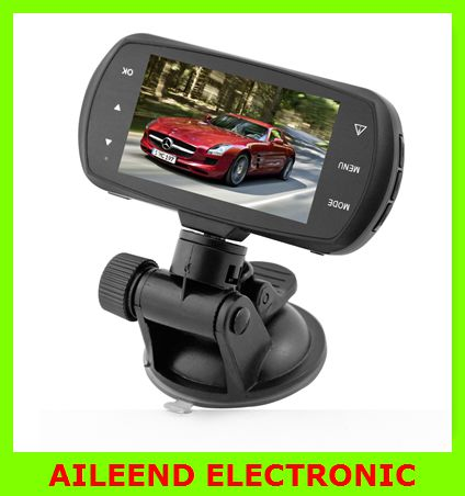 High-end latest 1440P Ambarella A12 Chip With GPS Car Dash Camera