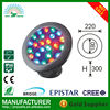 outdoor garden fountain multi color 24 swimming pool led underwater light