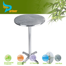 TLH-059A Modern Clear Tempered Glass Top Stainless Steel Round Base Coffee Table And Chairs