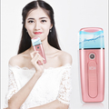 2600 mah power bank beauty care item nano handheld facial water mist sprayer for beauty skin moisturizer