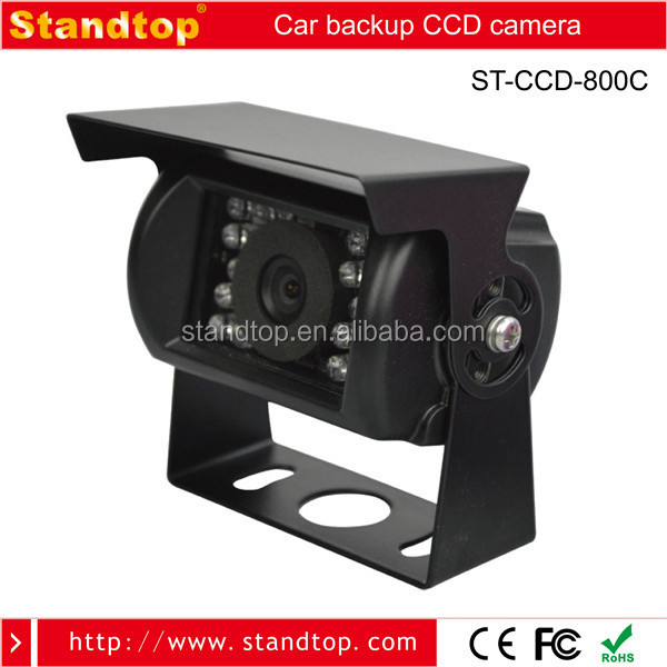 Vehicle Camera 120 Degree 18 PCS IR light IP68 Back Up Camera For Car