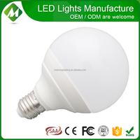 Plastic +Aluminum Dimmable 15W 18W G120/led bulb e27