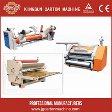 exported to India single facer/monolayer corrugated board making machine