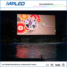 RGB Video Signal Outdoor P8 Curved 360 LED Display With Durable Aluminum Alloy