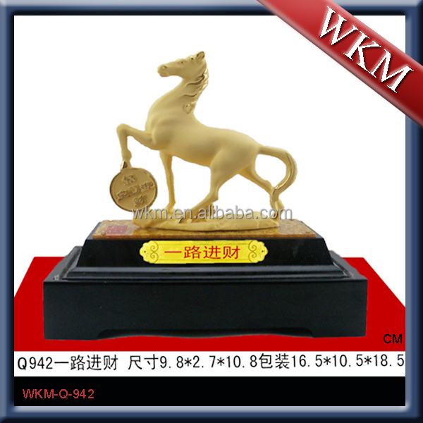 New engravable life size horse statues for sale