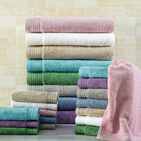 Comfortable wholesale 300gsm free custom size 100% cotton holiday inn bath towels