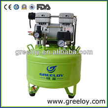 Oil Free Silent Used Dental Air Compressor for Sale