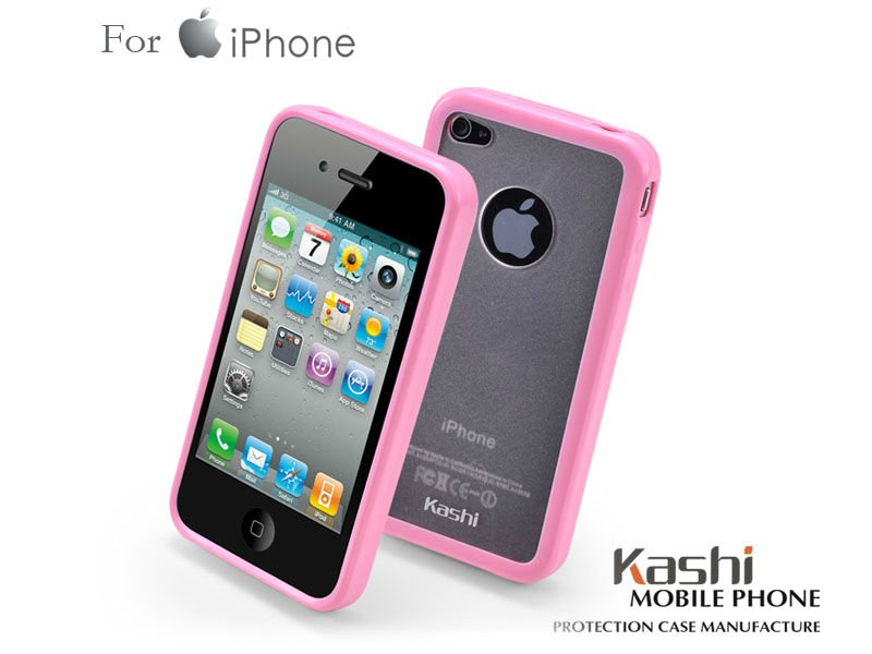 PC TPU Mobile Phone Case for Apple Iphone 4G
