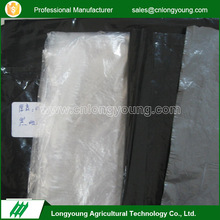 Latest style biodegradable prevent weeds silver black mulch film
