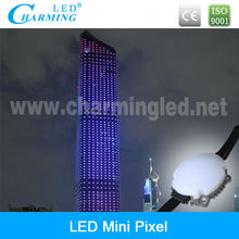 led rgb pixel for building facade decoration