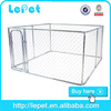 10x10x6 foot classic galvanized outdoor dog kennel/10x10x6ft stainless steel dog cage