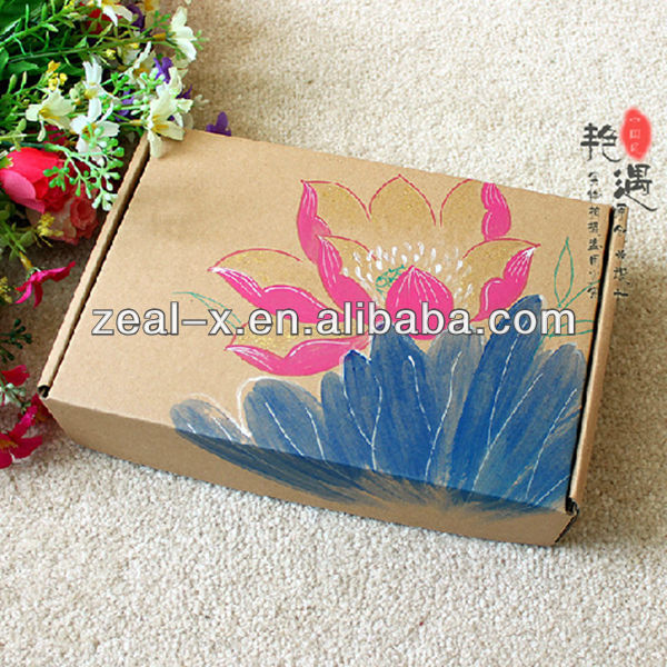 Cardboard or Corrugated Made Clothes Folded Boxes Paper Rigid Luxury Gift Box Packaging