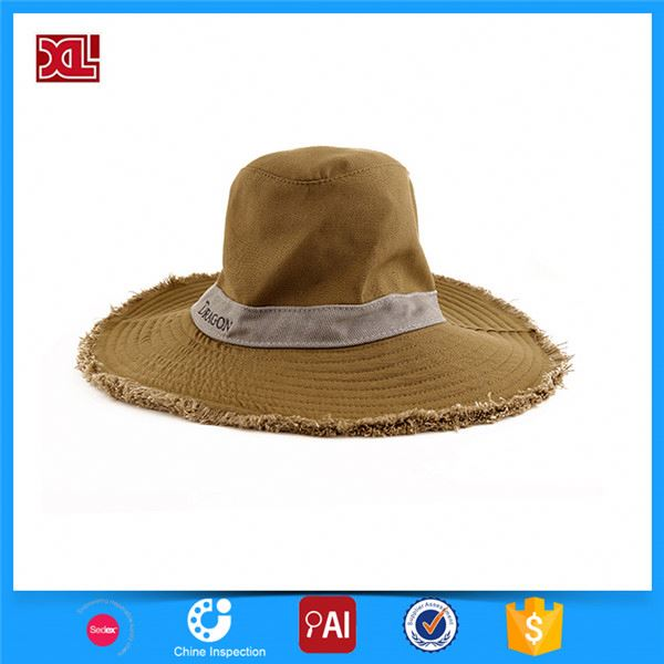 New and hot simple design custom sun knit bucket hat for wholesale