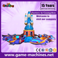 Rotary aircraft ride on plane for kids carousel game machine for game center