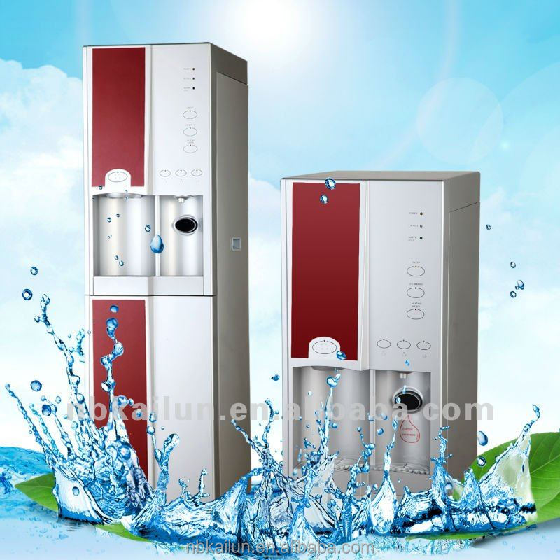 Hot&Cold compressor cooling water dispenser with ice maker / ice machine