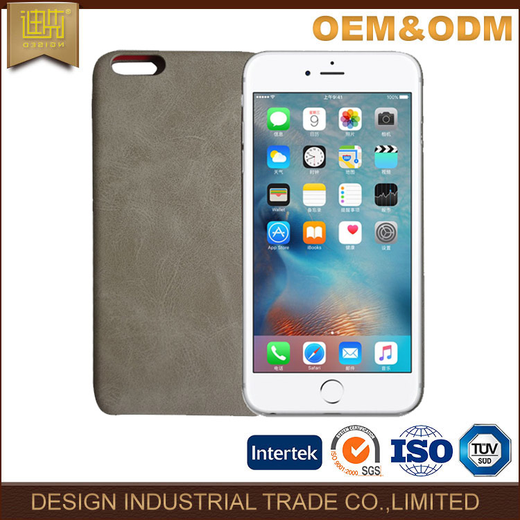 Vintage Style leather cell phone case for iphone6