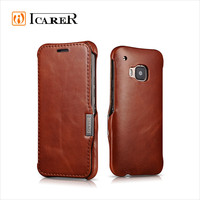 Genuine Leather Smart Phone Case For HTC ONE M9