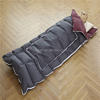 envelope sleeping bag for cold weather