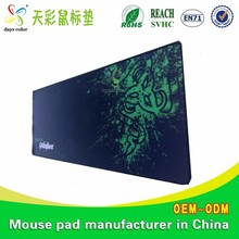Gaming Blank Sublimation Manufacture 3D Game Mouse Pad/ Custom Gel Pad Razer
