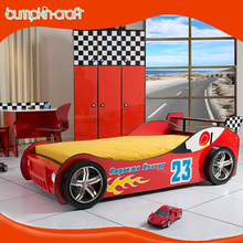 China supplier China Produced Cheap racing car beds for children in good quality