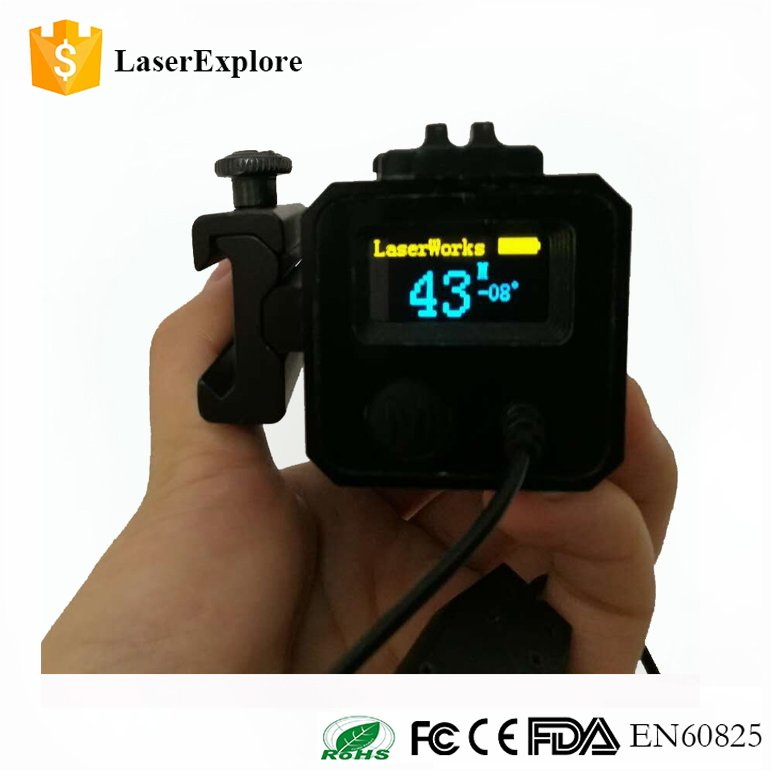 LaserExplore Mechanical aiming waterproof riflescope rangefinder hunting accessories