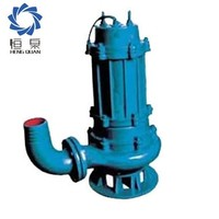 Submersible sewage water solid waste pump