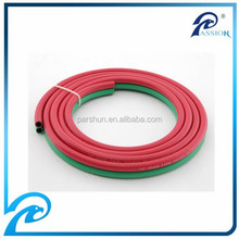 "20 bar SBR + NR material 1/4"" rubber twin welding hose"
