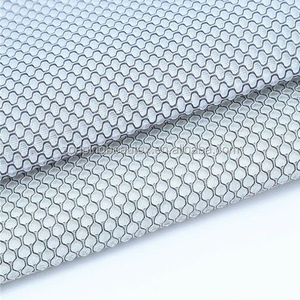 3d knitted 100% polyester mesh fabric for chair surface