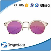Fashion And Popular Metal Ce Uv400 Sunglasses