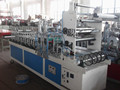 FM300/400 Model Inline Film Wrapping Machine for PVC Profiles