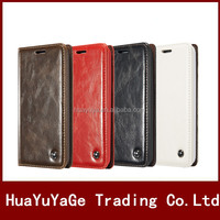 High Quality CaseMe Wallet Flip ID card Holder leather phone cases cover for Samsung Galaxy Note 5