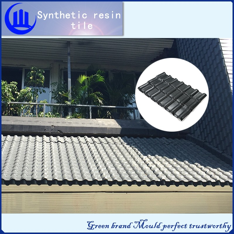 synthetic resin roof tile / Wholesalers china roof solar panel / mobile home kerala roof tiles